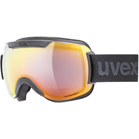 UVEX Downhill 2000 FM Goggles black mat/mirror rainbow rose